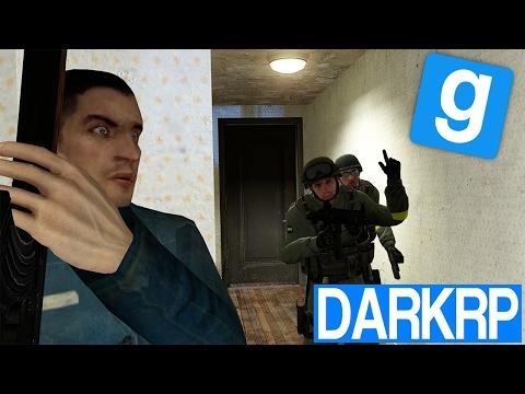 GROSSE FUSILLADE AVEC LA POLICE !! 💥👮 - Garry's Mod DarkRP #23 (видео)