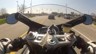 8. 2012 Triumph Daytona 675 - tank cam
