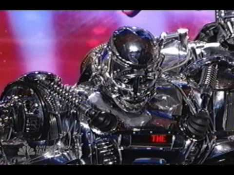 American Got Talent – the Robot Band – NBC 4  2009