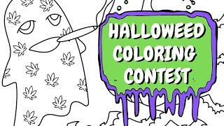 🎃💨Halloweed Coloring Contest  👻 by Chronic Crafter