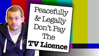 Video How To Legally & Peacefully Avoid Paying For A TV Licence 2018 MP3, 3GP, MP4, WEBM, AVI, FLV Desember 2018