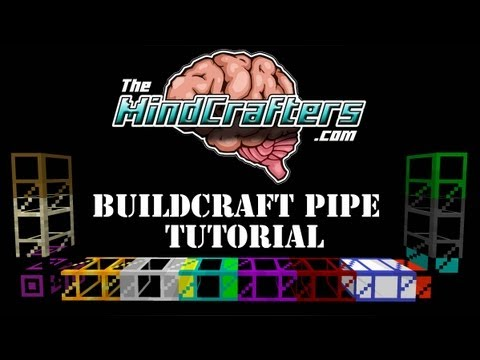 Tekkit Lite Tutorial – Buildcraft Pipes