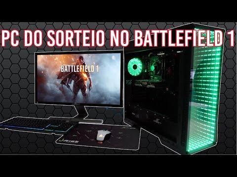 Chipart - SORTEIO!!! MEGA PC GAMER!! TESTE NO BF1