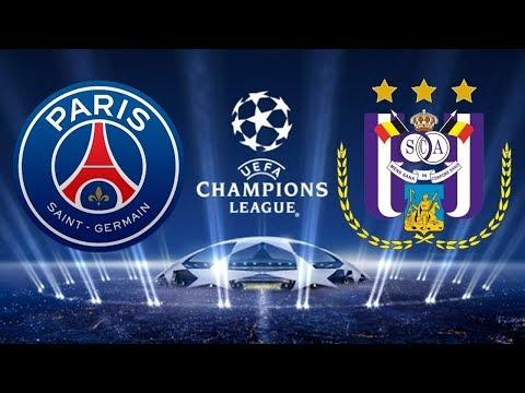 PSG 5 x 0 Anderlecht (31/10/2017) UEFA Champions League 2017/2018 - Grupo B [FIFA 18]