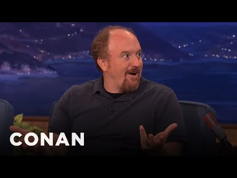 face - Watch CONAN @ http://teamcoco.com - Louis CK explains how he saved a dog's life by punching it in the face. Hey, we've all been there.