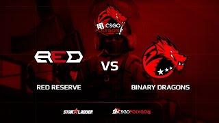 Red Reserve vs Binary Dragons, train, Binary Dragons csgopolygon Season 1