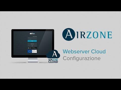 Webserver Airzone Cloud: Configurazione