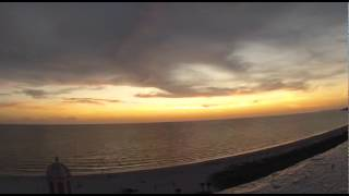 Sunset Timelapse from Don CeSar on St. Pete Beach