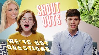 Matthew and Sarah shout-out to their favorite news stories and commenters of the week. - SUBSCRIBE to Above...