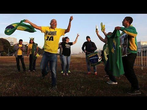 Η αποπομπή Ρούσεφ διχάζει την Βραζιλία