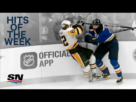 Video: Hits of the Week: McDavid taken out by teammate