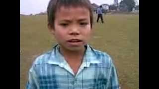 Arunachali kid singing songs