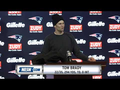 Video: Tom Brady Week 9 Patriots vs. Packers Postgame Press Conference