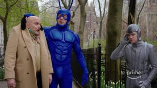 Amazon releases the first official trailer for the upcoming revival of the animated series, 'The Tick'.
