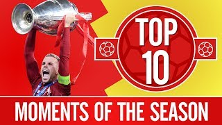 Video Top 10: Liverpool's best moments of the 2018/19 season MP3, 3GP, MP4, WEBM, AVI, FLV Juli 2019