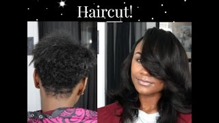 PLEASE READ ME::::: Hey everyone! This is a video showing how you can do a sew in on someone who has a short haircut. Hope you enjoy!  HAIR PROVIDED BY ME : IG @invoguemehairFLAT IRON https://www.amazon.com/gp/product/B00176B9JC/ref=as_li_tl?ie=UTF8&tag=envog-20&camp=1789&creative=9325&linkCode=as2&creativeASIN=B00176B9JC&linkId=04d13bc8db3c5332cbc5657d881d1a32LIFESTYLE VLOG : youtube.com/ThelmaaAndLouiseeFeel free to comment video suggestions :)Don't forget to SUBSCRIBE AND LIKE :)