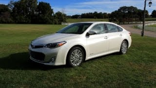LotPro gives a complete walkthrough of the 2013 Toyota Avalon Hybrid, from a consumer's perspective. LotPro's Editor of Automotive Content, Steve Cypher test...