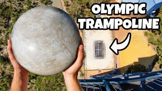Video ATLAS STONE Vs. OLYMPIC TRAMPOLINE from 45m! MP3, 3GP, MP4, WEBM, AVI, FLV Agustus 2019