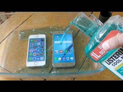 , title : 'iPhone SE vs Samsung Galaxy S7 - Listerine Test'