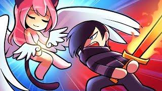 Angels Vs Demons!  - [HUMAN FALL FLAT]