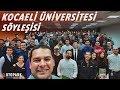 Kocaeli Üniversitesi | Arge'de mühendis olmak | Şafak Pistte nasıl kaza yaptı? | Söyleşi