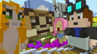 Minecraft Xbox - Hide and Seek - DanTDM Stampy and Youtuber Hide and Seek