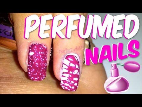 nail art con il profumo!