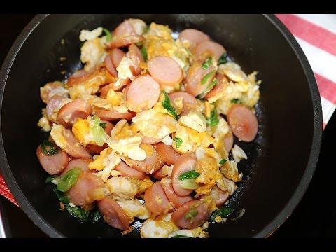 Thai Food : Sausage Stir-Fry with Egg Recipe