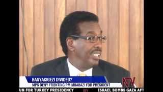 A number of legislators led by Major General Jim Muhwezi say they are not part of those who allegedly endorsed Prime Minister Amama Mbabazi as a candidate fo...