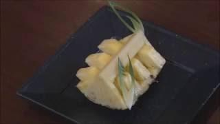 パイナップルのフルーツカット