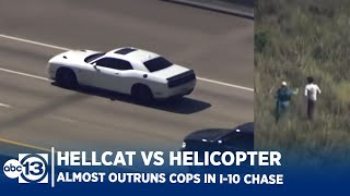 Video Stolen Dodge Hellcat hits 200MPH in Houston Police Chase! Driver Almost Makes it MP3, 3GP, MP4, WEBM, AVI, FLV Juni 2018