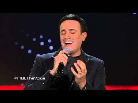 """صابر الرباعي يغني """"غلطان"""" مع عبود برمدا حمزة الفضلاوي على مسرح The Voice"""