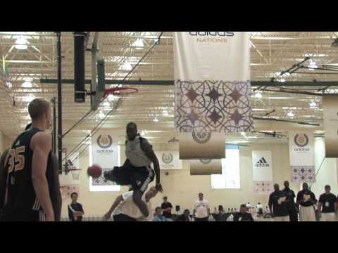 Quincy Acy - Around the Key Dunking Drills