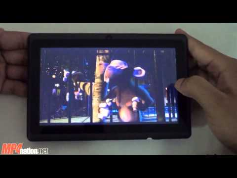 Allwinner A13 7 Android 4.03 Tablet