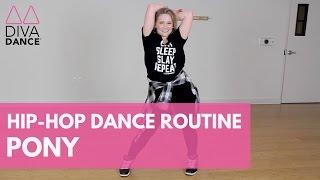 """PONY"" MAGIC MIKE EDITION - GINUWINE | DivaDance | Dance Routine | Beginner Choreography Tutorial"