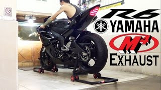 10. Yamaha R6 2013 Black Edition, Exhaust M4 Street Slayer, SOUND (istimewa)