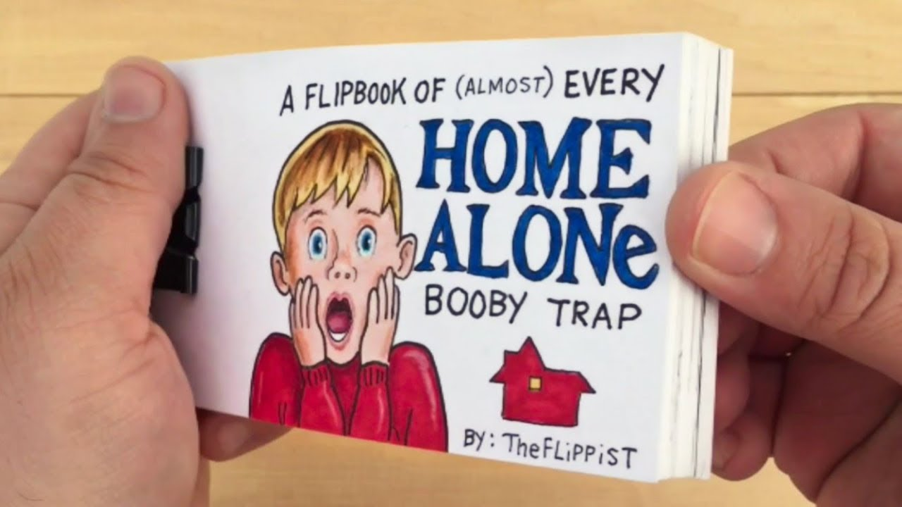 Home Alone Flipbook Video Unrelentingly Delivers Every Booby Trap ...