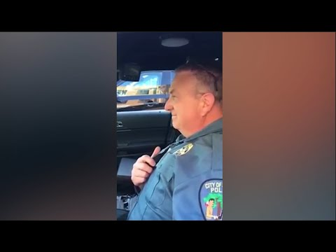 Emotional Video Shows Police Sergeant's Final Sign-Off