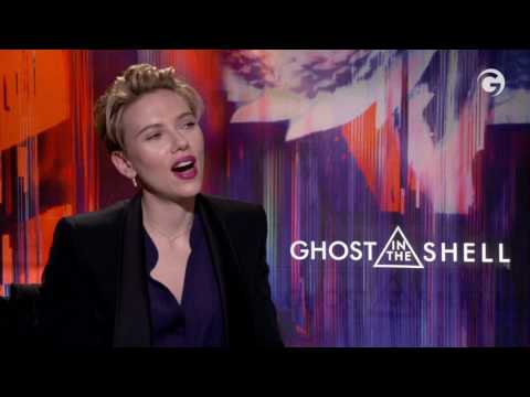 Scarlett Johansson On Lil Dicky Break Up, Ghost In The Shell Interview