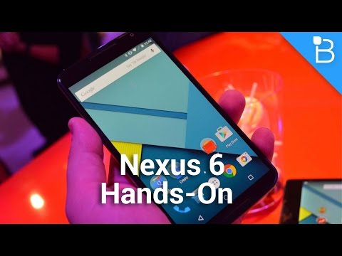 technobuffalo - Nexus 6 Hands-On Nexus 9 Hands-On: http://bit.ly/1rtm2p2 Today we're here with a first look at the Nexus 6. It's large, sure, with a nearly 6-inch display, but it doesn't feel too cumbersome...