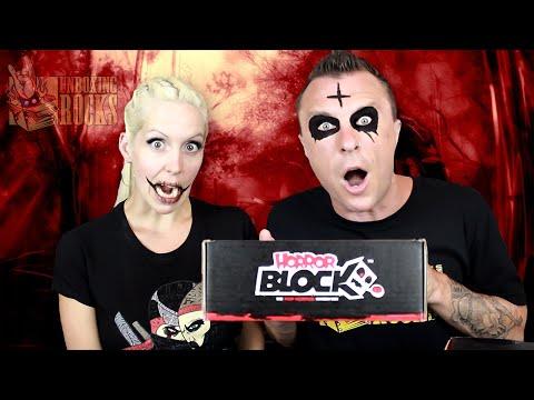 Horror Block : June 2015 Unboxing Review