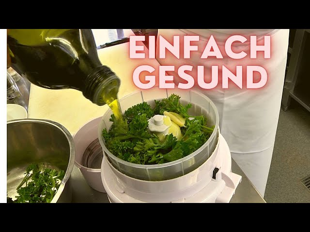 Gesunde Rucola - Walnuss - Pesto