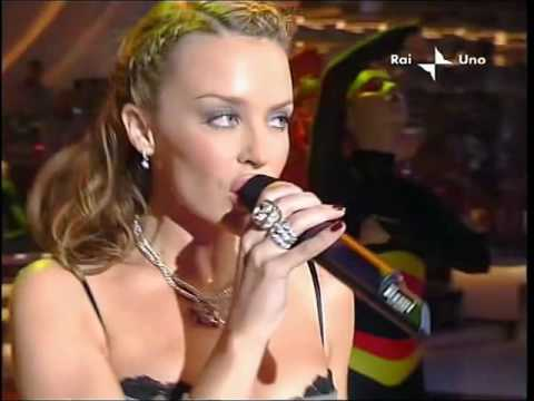 Kylie Minogue - In Your Eyes Live Sanremo Italy 09 03 2002