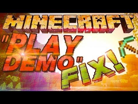 Minecraft Nur Demo Spielbar Obwohl Minecraft - Minecraft spielen demo