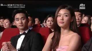 Video 【中字】140527 第50屆百想藝術大賞 金秀賢 全智賢 劉在石cut 김수현 전지현 유재석 Jun Ji Hyun Kim Soo Hyun MP3, 3GP, MP4, WEBM, AVI, FLV Maret 2018