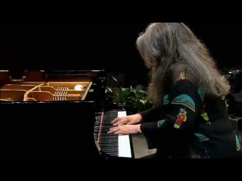 Martha Argerich - Johann Sebastian Bach - Piano Partita No. 2 In C Minor, BWV 826