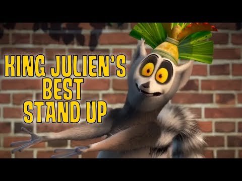 All Hail King Julien | King Julien's Best Comedy Stand Up | Madagascar | Kids Show
