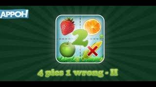 4 Pics 1 Wrong - II YouTube video