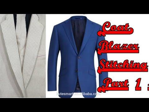 (Coat) Blazer stitching (Part 1)