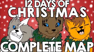 12 Days of Christmas ~ Complete MAP